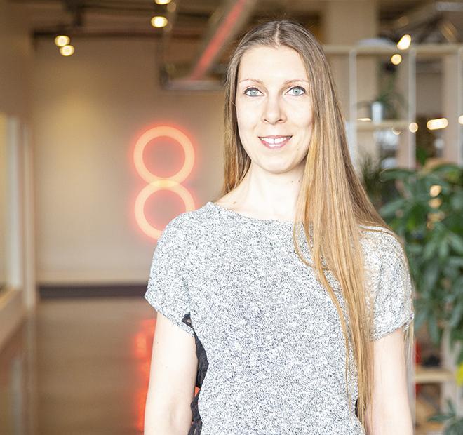Cécile Decroix, Chargée de projets web